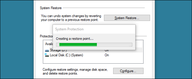 Comment faire un point de restauration sur windows 7