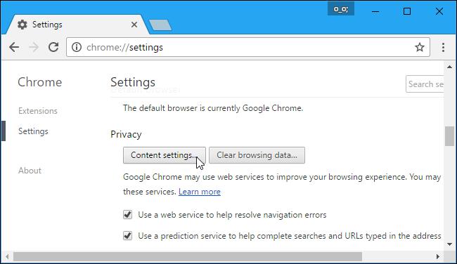 arrêter google chrome